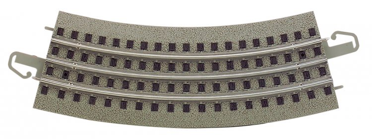 36 inch Diameter Curved Track (24 pcs) - bulk - Click Image to Close