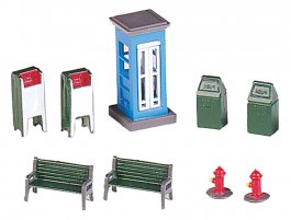 Park Assortment (HO Scale)
