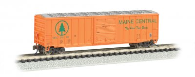 Maine Central - ACF 50.5' Outside Braced Box Car