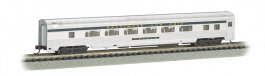 B&O® Silver w/ Blue stripe - 85 FT Coach w/ lighted interior