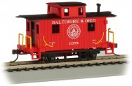 Baltimore & Ohio® #C-1775 - Old-Time Bobber Caboose (HO Scale)