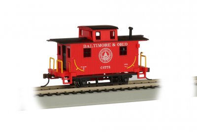 Baltimore & Ohio® #C-1775 - Bobber Cabooses (HO Scale)