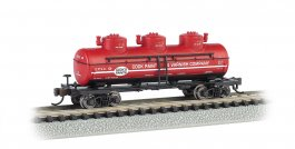 Cook Paint & Varnish CO. - 3-Dome Tank Car