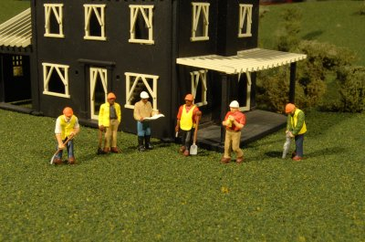 Civil Engineers - HO Scale