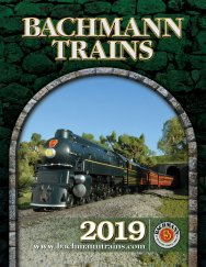 "2019 Bachmann & Williams Catalog (Digest Size; 6.5"" x 8.5"")"
