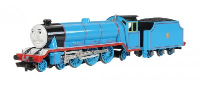 Gordon the Big Express Engine (with moving eyes) (HO Scale)
