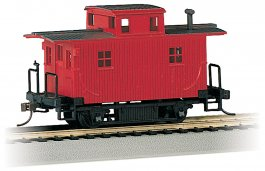 Painted Unlettered - Bobber Caboose (HO Scale)