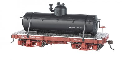 18 ft. Tank Car - Black, Data Only (2 per box)
