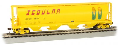 Scoular #1687 - 4 Bay Cylindrical Grain Hopper