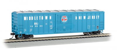 Middletown & New Jersey - ACF 50.5' Outside Braced Box Car (HO)