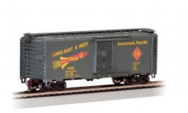 Toledo, Peoria & Western - 40' Box Car (HO Scale)
