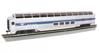 Amtrak Phase VI - 85' BUDD Full Dome (HO Scale)
