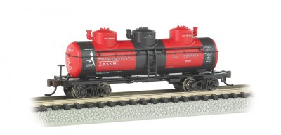 Transcontinental Oil Co. - 3-Dome Tank Car