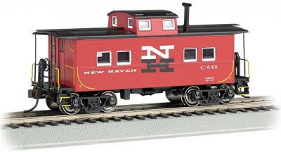 New Haven #C-543 - NE Steel Caboose (HO Scale)