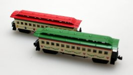 Passenger Coach, Assorted/each - Spirit of Christmas (N scale)