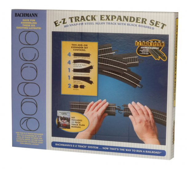 Steel Alloy Expander Set (HO Scale) - Click Image to Close