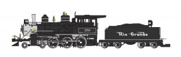 D&RGW™ - Flying Grande - 4-6-0 (DCC & SOUND READY)