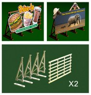 O Scale Billboard Kit