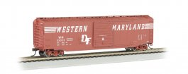 WM® (Speed Lettering) - 50' Sliding Door Box Car (HO Scale)