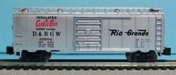 "D&RGW ""Cookie Box"" - 40' Box Car"