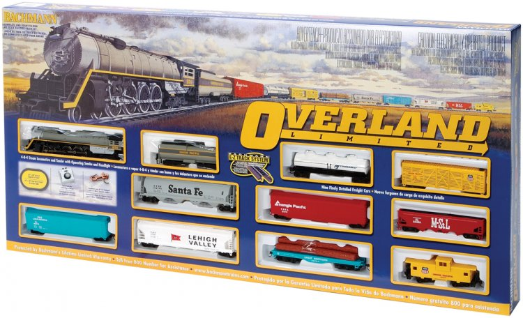 Overland Limited (HO Scale) - Click Image to Close