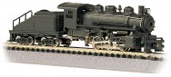 Painted Unlettered - USRA 0-6-0 Switcher & Tender (N Scale)