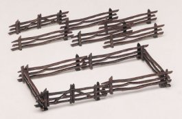 Rustic Fence (12 pieces)