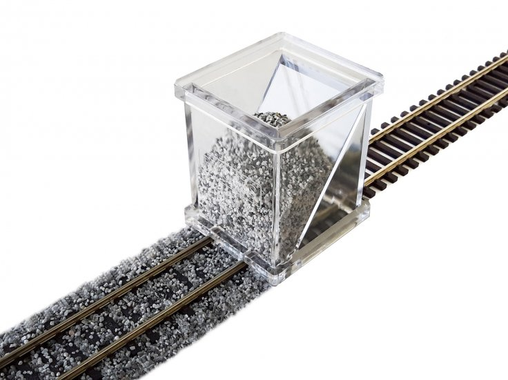 HO Scale Ballast Spreader - Click Image to Close