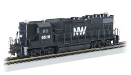 Norfolk & Western #6518 - GP50 (HO Scale)