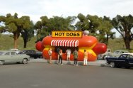 Hot Dog Stand - Roadside U.S.A® Building (HO Scale)