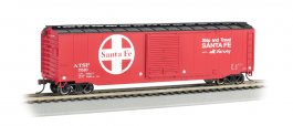 Santa Fe - 50' Sliding Door Box Car (HO Scale)