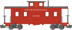 Pennsylvania #1002 - Eight-Wheel Center-Cupola Caboose (LS)