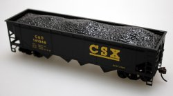 40' Quad Hopper - CSX (4 Car Set)