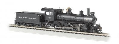 New York Central #1238 - Baldwin 4-6-0 (HO Scale)