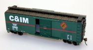 40' Box Car - C&IM (HO Scale)
