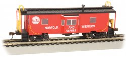 Norfolk & Western - Bay-Window w/ Roof Walk Caboose (HO Scale)