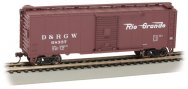Rio Grande™ # 68337 - Steam Era 40' Box Car (HO Scale)