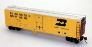 Steel Reefer - Burlington Northern (HO Scale)