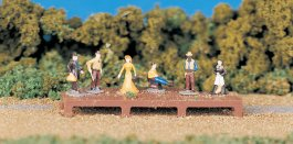 Old West Figures (HO Scale)