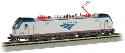 Amtrak #668 - Siemens ACS-64 - DCC Sound