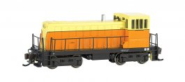 Painted, Unlettered - Orange & Cream GE 70 Ton -DCC