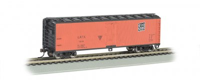 Union/Soo Line - 40' Wood-side Refrigerated Box Car (HO Scale)