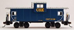 Wide Vision Caboose - CSX (HO Scale)