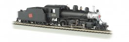 Canadian National #409 - DCC Sound Value (HO ALCO 2-6-0)