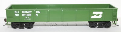Gondola - Burlington Northern ( HO Scale )