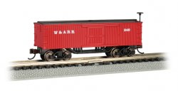 Western & Atlantic - Old-Time Box Car (N Scale)