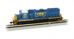 CSX® #6001 - GP40 - DCC Econami™ Sound Value