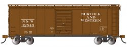 Norfolk & Western #42543 - Steam Era 40' Box Car (HO Scale)
