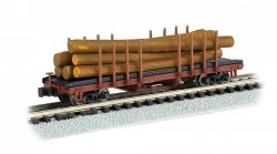ACF 40' Log Car 1935 - 1960 version