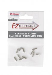 E-Z Street Connector Pins (8 Outer & 4 Center)